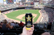 Fulton Lonely Blonde at Target Field