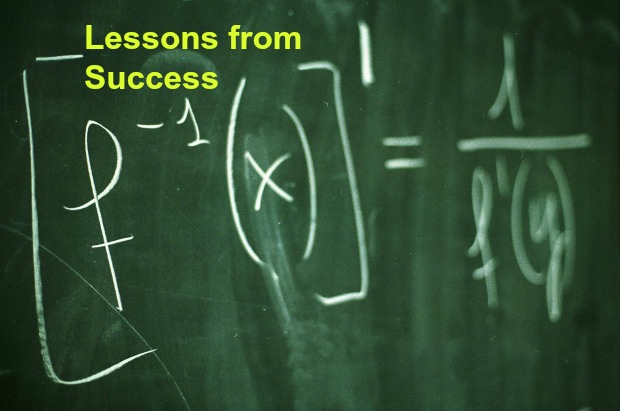 Lessons from Success