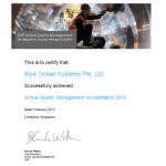 Blue Ocean Systems Achieves SAP AQM Accreditation