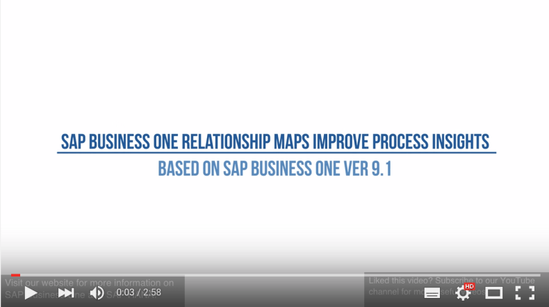 SAP_Business_One_Relationship_Maps_Improve_Process_Insights_-_YouTube