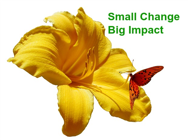 Small Change. Big Impact.