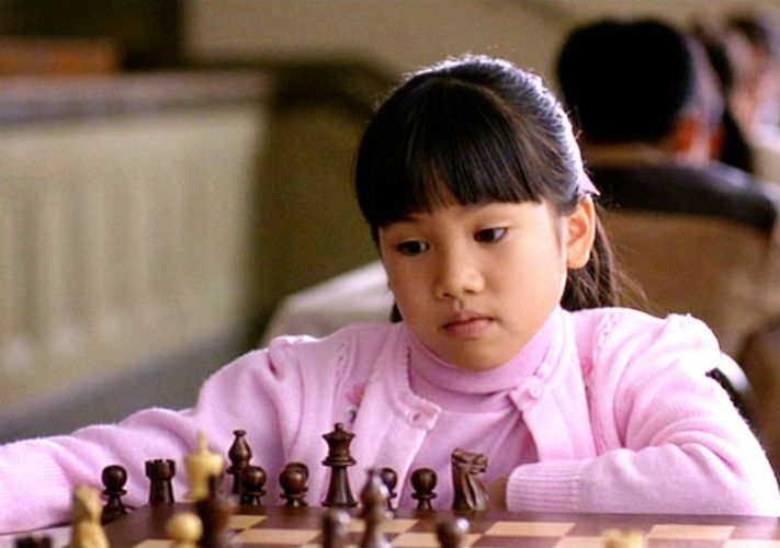Waverly playing chess