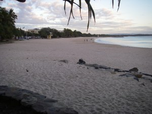 Main Beach Noosa Heads a new day dawns, ready for action.