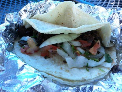 Yuca's taco