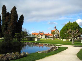 Rotorua park and Museum