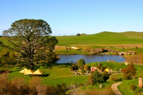 View across Hobbiton