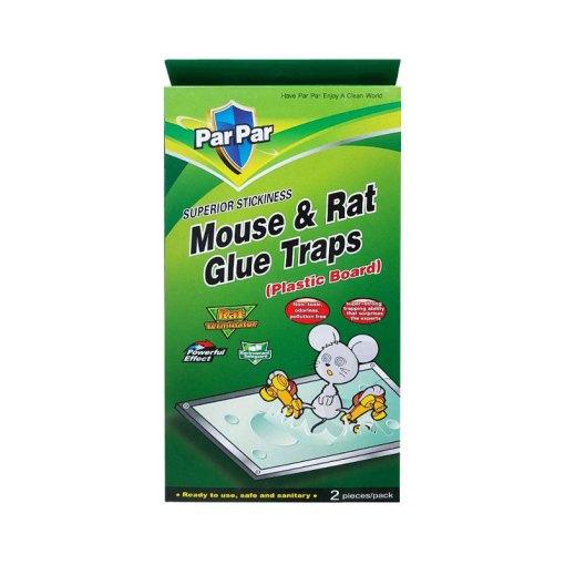 ParPar Mouse & Rat Glue Traps with Plastic board - 2Pieces