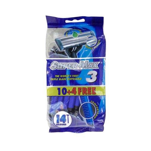 SuperMax Comfort3 - 10+4 Disposable Razor Blade