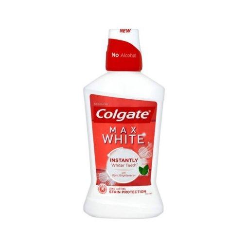 غسول الفم والأسنان كولجيت ماكس وايت 500مل