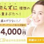 プチ整形・美容整形するなら【TCB東京中央美容外科】のご紹介