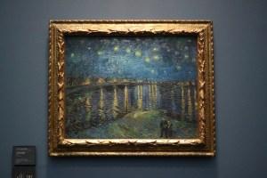 オルセー美術館にあるゴッホの星月夜