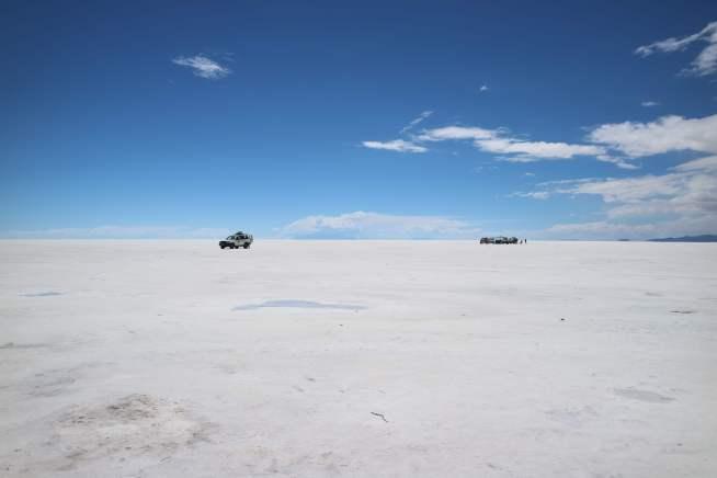 ウユニ塩湖(乾燥)