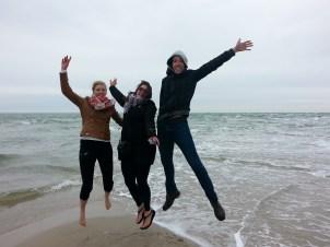 Jumping in Skagen