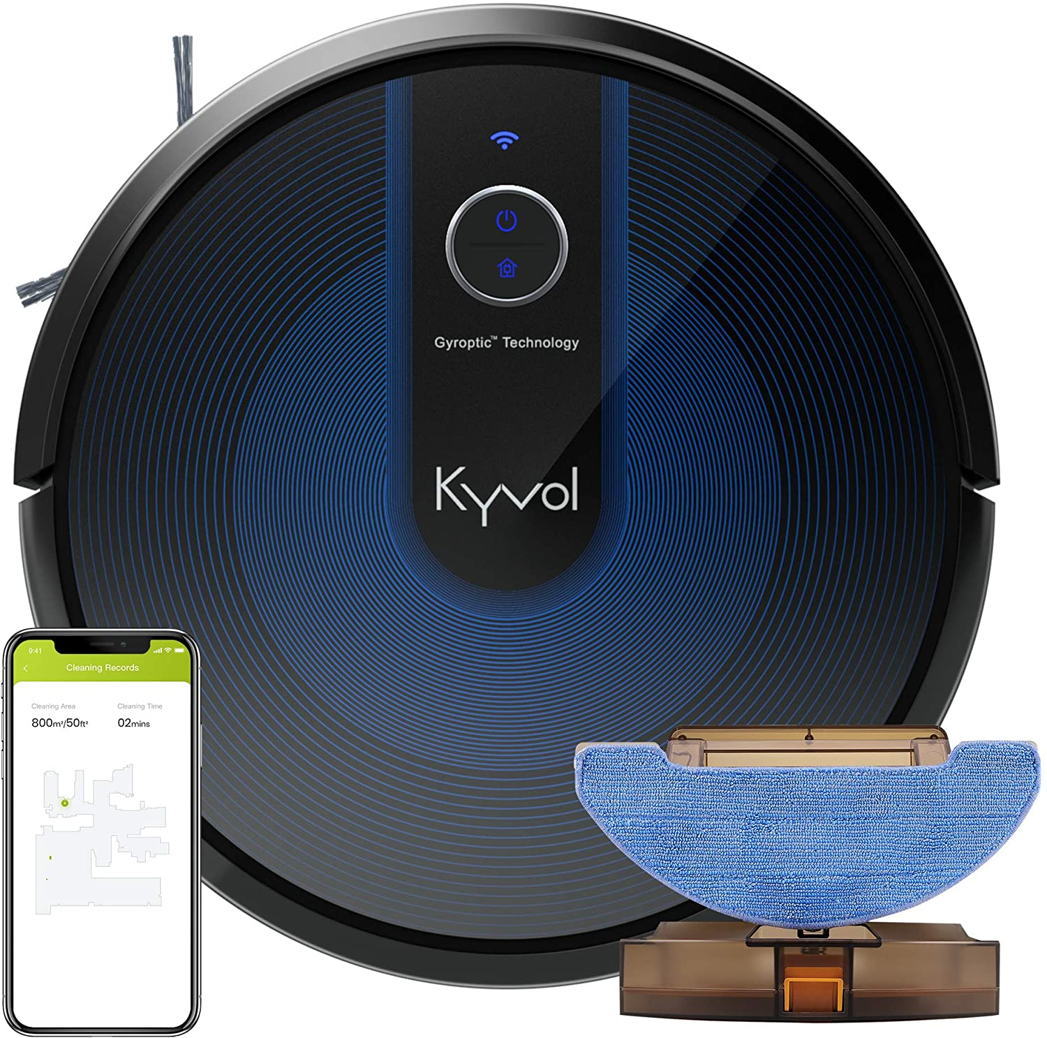 kyvol cybovac e31 vacuum sweeping and mopping robot cleaner