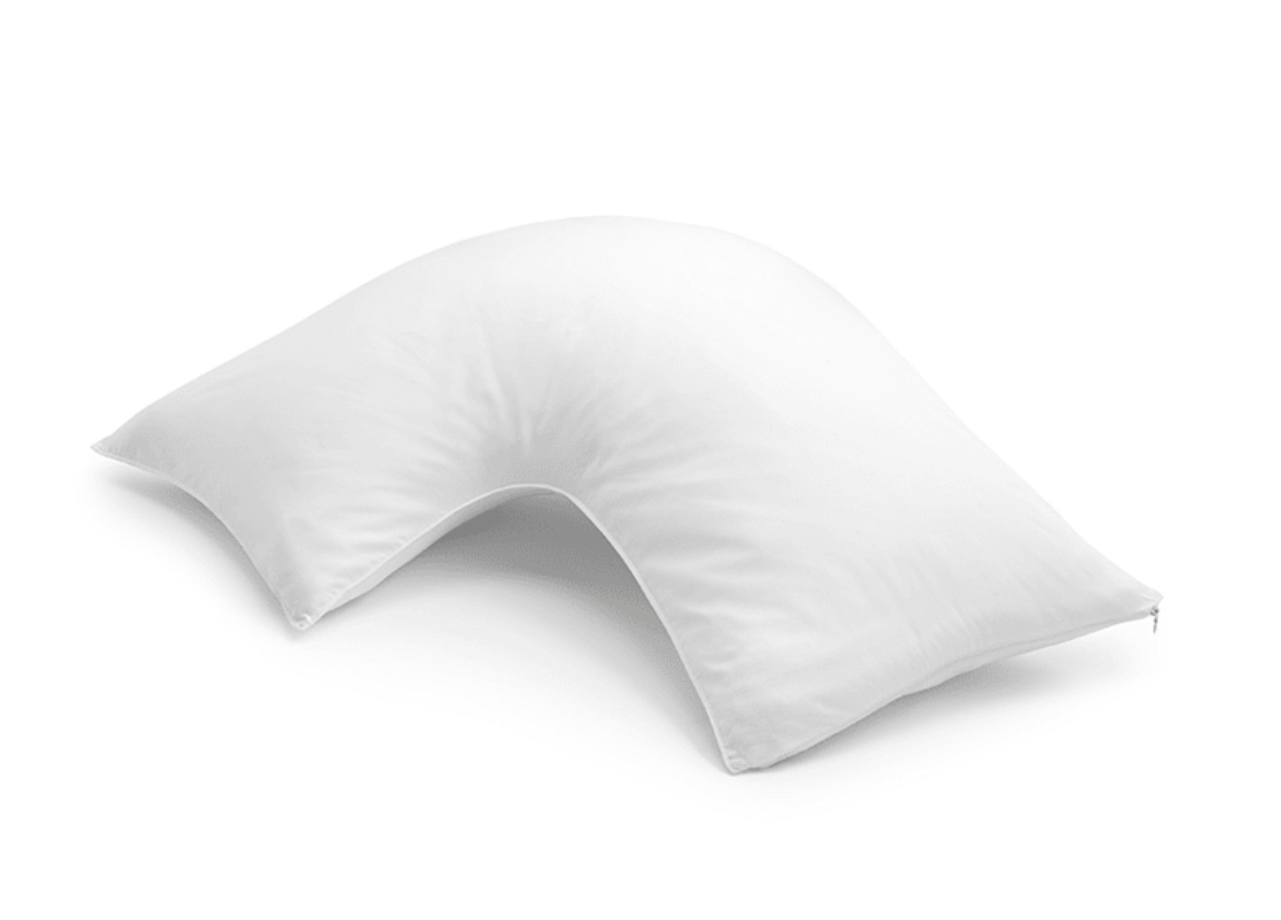 sleep number l shaped pillow