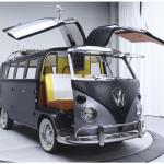 Volkswagen Bus Pays Homage To Back To The Future