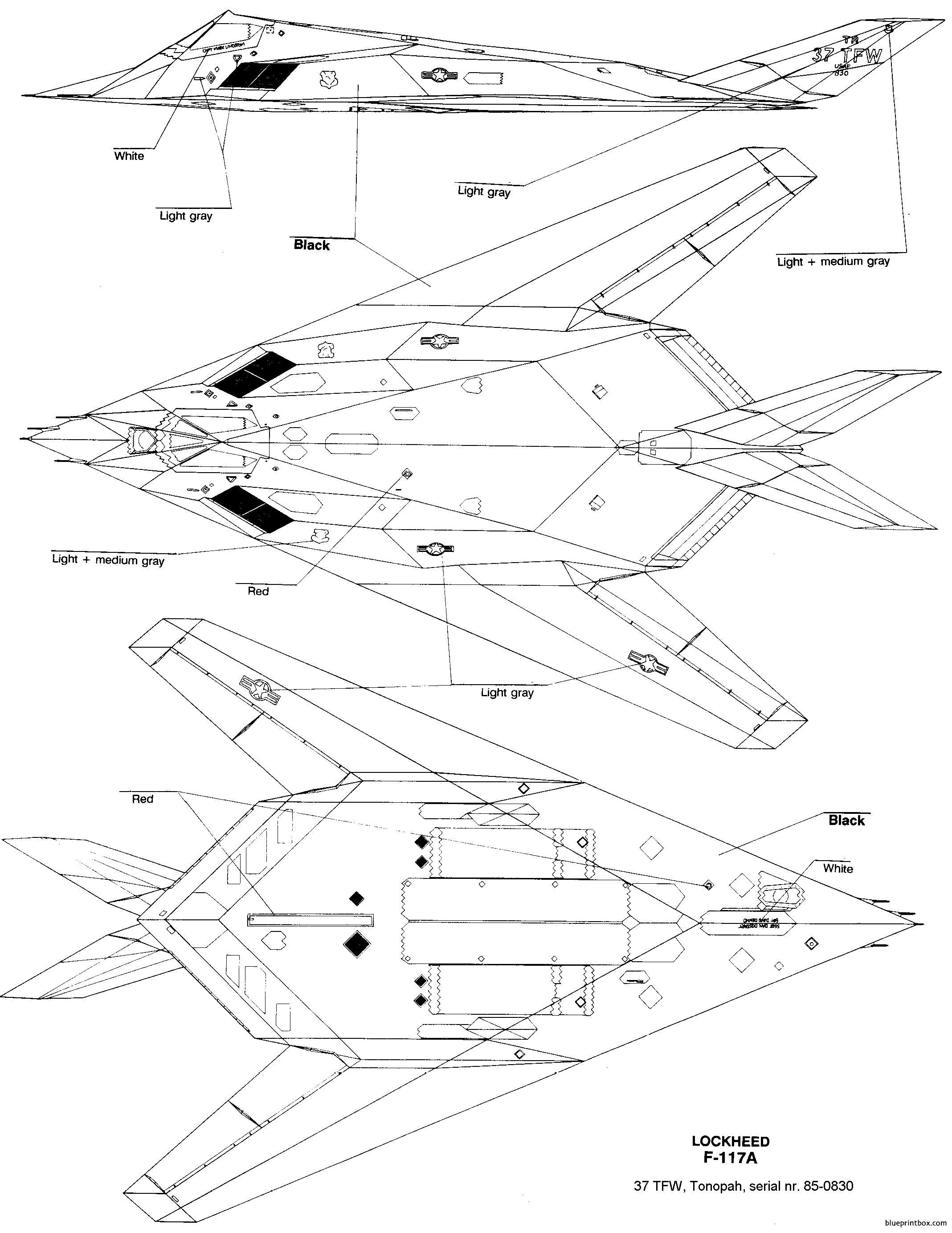 Lockheed F 117 Nighthawk 5