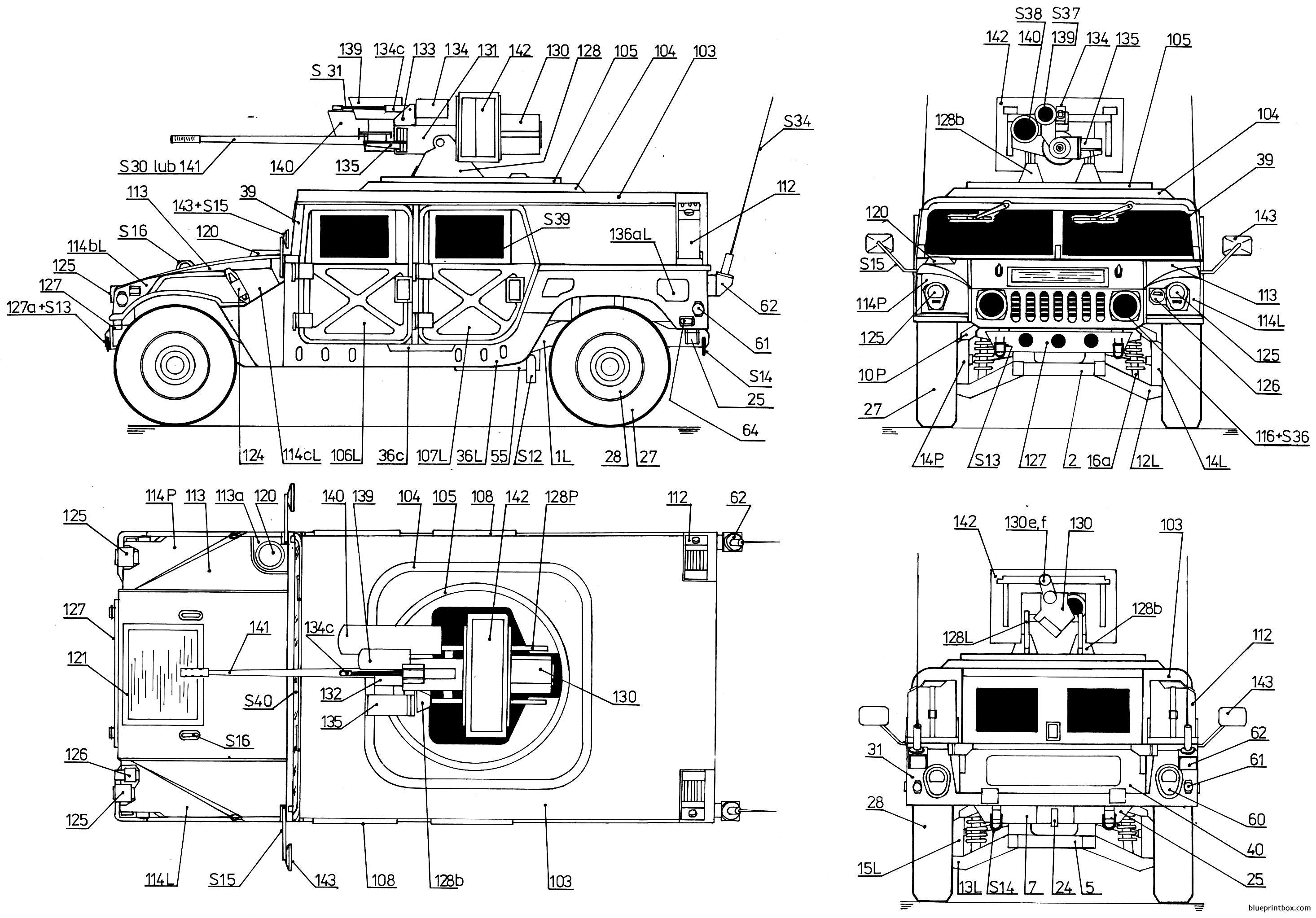 Hummer M242 Bushmaster 2