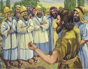 John warns the stubborn Jewish leaders of the wrath to come.