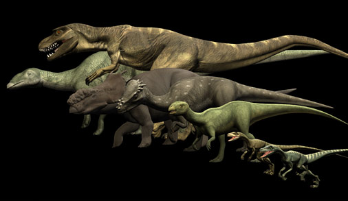Arctic dinosaur fossils are abundant.