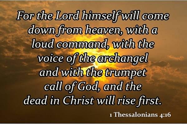 1 thessalonians 4v16