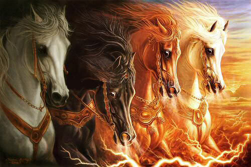 the 4 horses