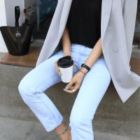 blazer x jeans