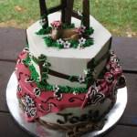 Horse Cake Blue Ridge Buttercream