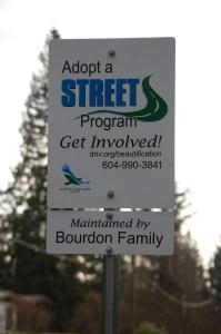 Adopt a street sign