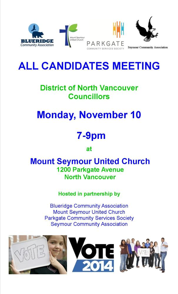 2014 - Poster All Candidates Meeting - Poster to Print