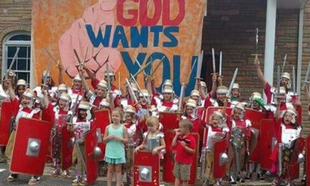 Put on the Whole Armour of God by Teresa Young is a unique way to teach children about the Bible.