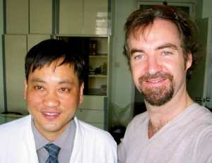 James Whittle and Dr. Zhou