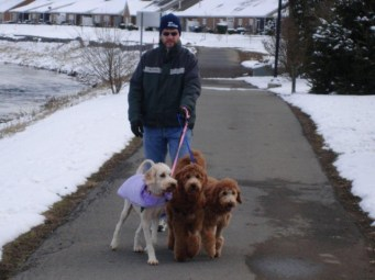 Barney_Andy_with_their_sister_and_dad_on_a_walk_2010