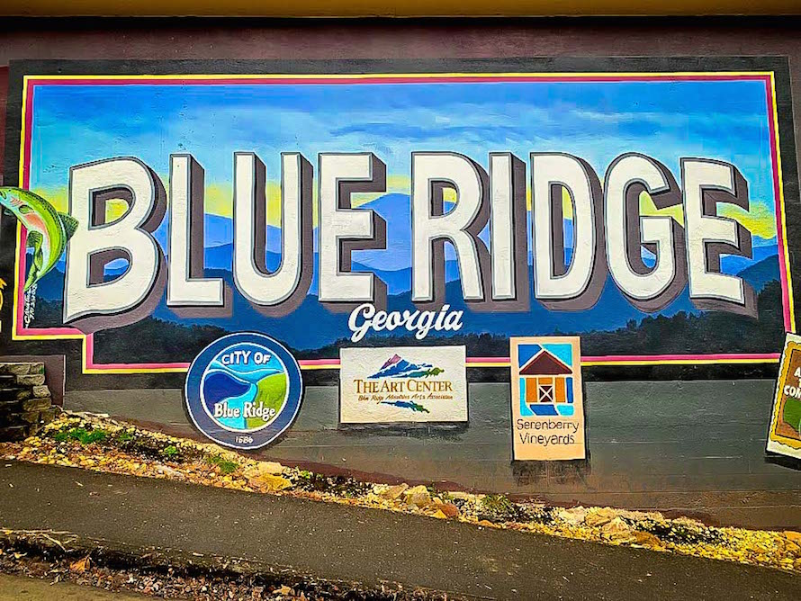 Blue Ridge GA Sign