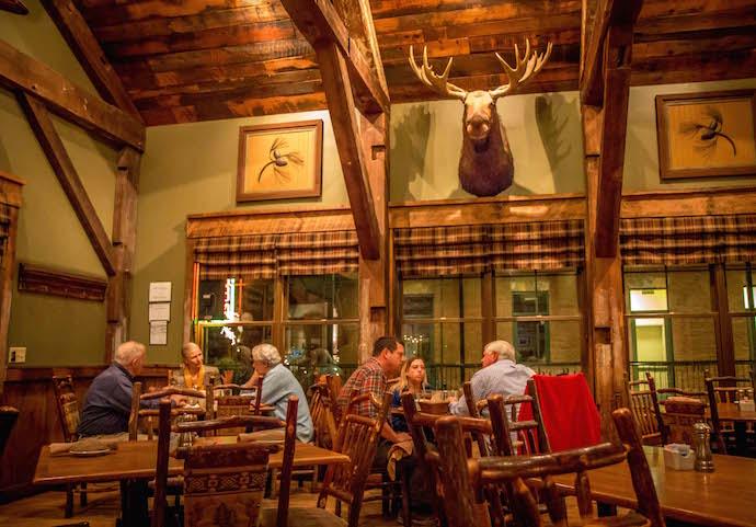 Dining Room at Harvest on Main Restaurant in Blue Ridge, GA