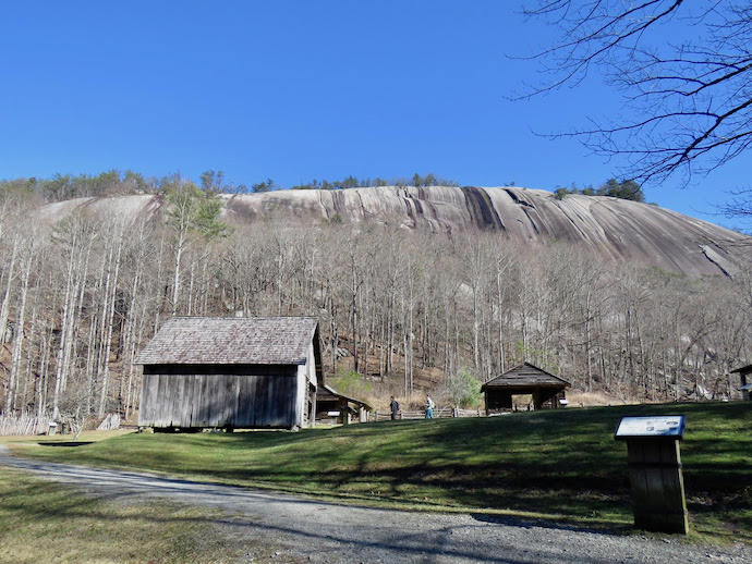 Homestead Backdrop - Stone Mountain State Park