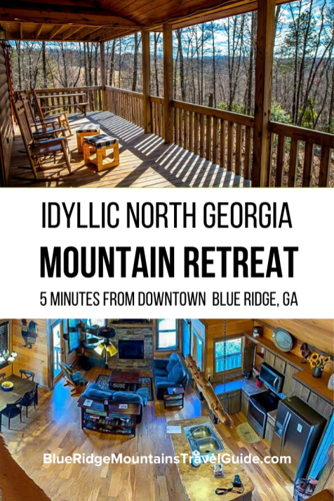 Review of Wood Haven Retreat, the perfect Blue Ridge cabin rental located just 5 minutes from Downtown Blue Ridge, Georgia. Blue Ridge Cabin Rental | cabin in Blue Ridge | Georgia Mountain Cabin Rental | North Georgia Cabin Rental | Blue Ridge cabin | Cabin Rental in Blue Ridge | North Georgia Retreat | North Georgia Mountains | North Georgia Mountains Cabin Rental
