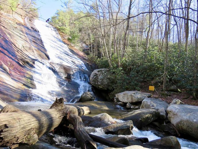 Stone Mountain Falls - Stone Mountain State Park