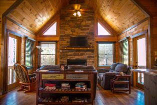 Wood Haven Retreat, a Blue Ridge Mountain Cabin