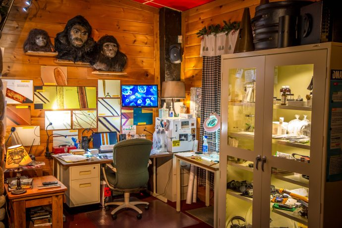 Science Lab at the Expedition Bigfoot Museum In Blue Ridge, GA