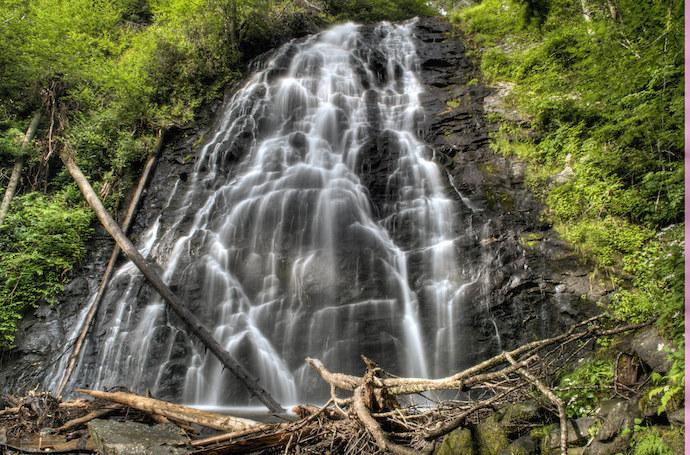 20 Western North Carolina Waterfalls - Crabtree Falls
