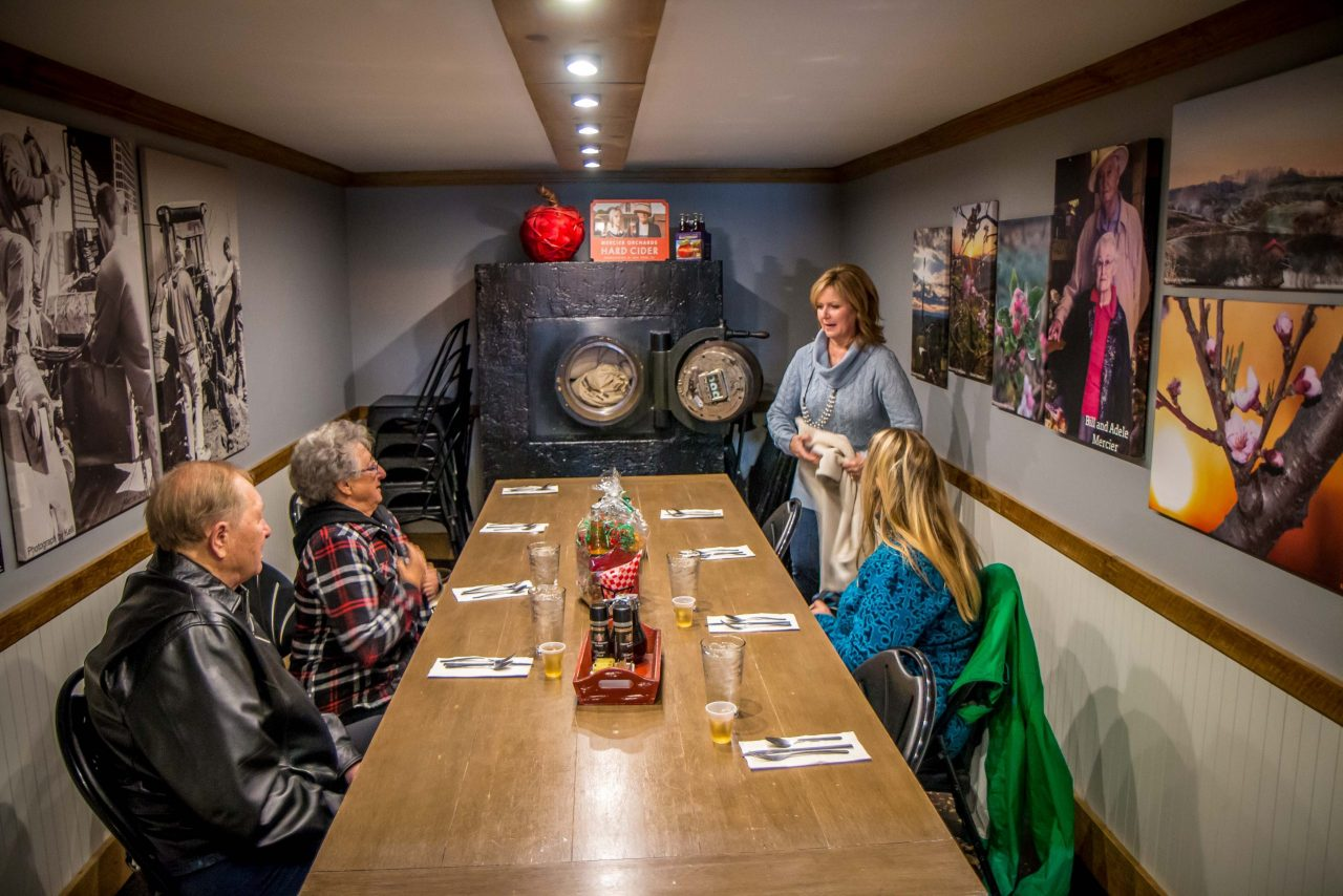 Blue Ridge Mountains Food Tour at Mercier Orchards Tasting Room