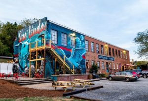 Cotton Mill Studios in Asheville River Arts District