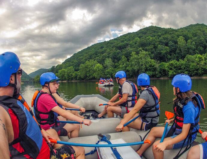 Cunard Put-in, New River Gorge, West Virginia