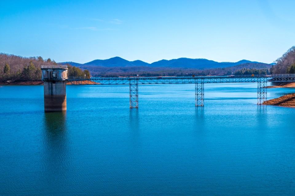 Lake Blue Ridge in Blue Ridge GA