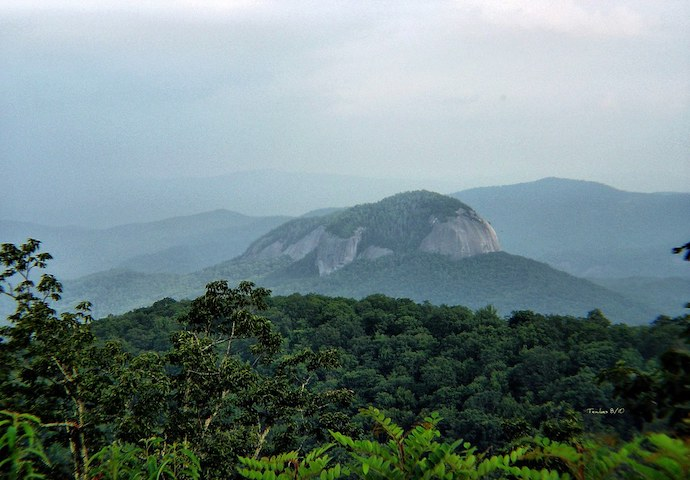 Pisgah National Forest - Looking Glass Rock