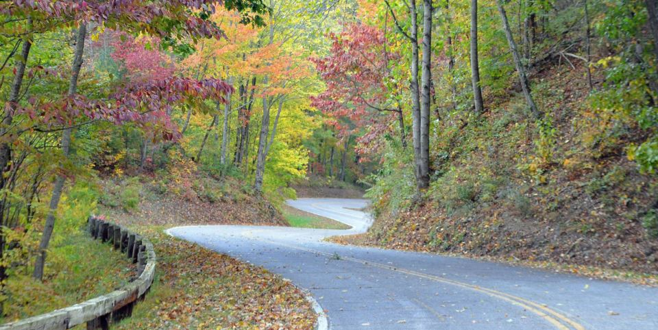 Winding Mountain Road in Murphy NC