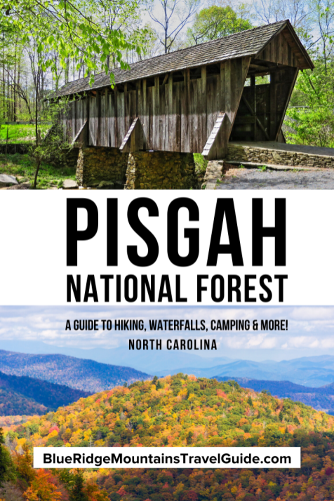 Pisgah National Forest: A Beginner's Guide including Things to Do, Best Hiking Trails, Best Waterfalls, Camping & Cabin rental info.
