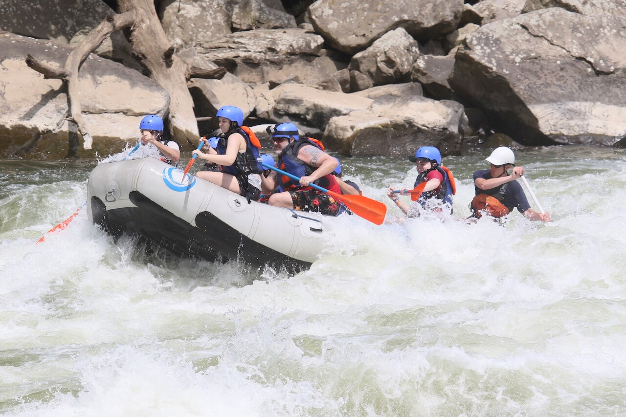 White Water Rafting New River Gorge West Virginia