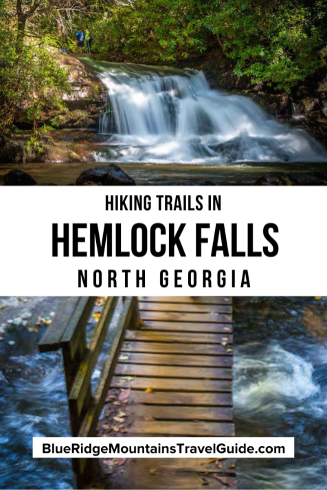 How to Get to Hemlock Falls at Moccasin Creek State Park, Georgia. Includes history, hiking highlights, and driving directions. Hiking trails with waterfalls in Georgia | Hemlock Falls Trails | Hemlock Falls hiking | North Georgia Waterfalls | North GA Waterfalls | Best waterfalls in Georgia | Moccasin Creek State Park | GA Waterfalls | Lake Burton | easy waterfall hikes